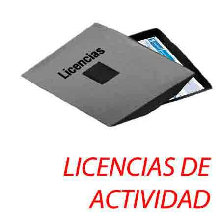 Licencias Actividad Apuntoarquitectura