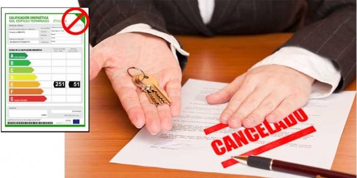 ¿Puede ser un contrato de alquiler nulo por no tener Certificado Energético?