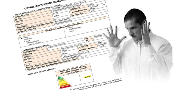 Como interpretar el Certificado Energetico