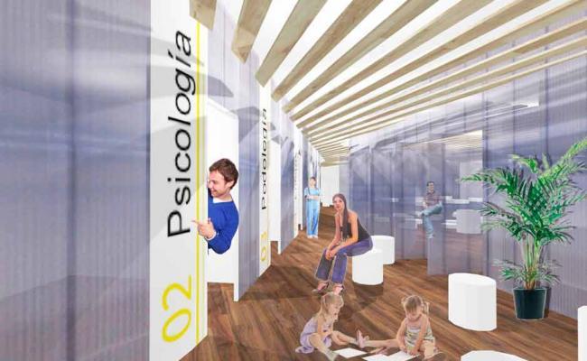 Proyecto para Policlinica en Centro de Madrid