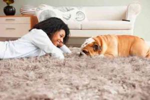 aislar suelos con alfombras