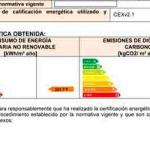 Cambios en el Certificado Energetico Enero 2016 CE3X 2.1