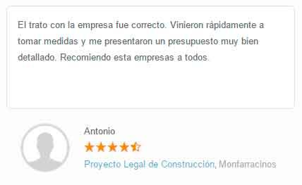Opinion apuntoarquitectura Antonio