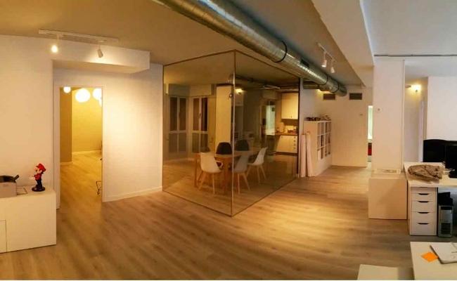 Proyecto y obra de reforma para oficina en Madrid