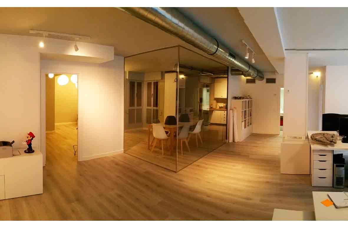 Proyecto y obra para reforma de oficina en Madrid