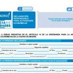Licencia Declaración Responsable