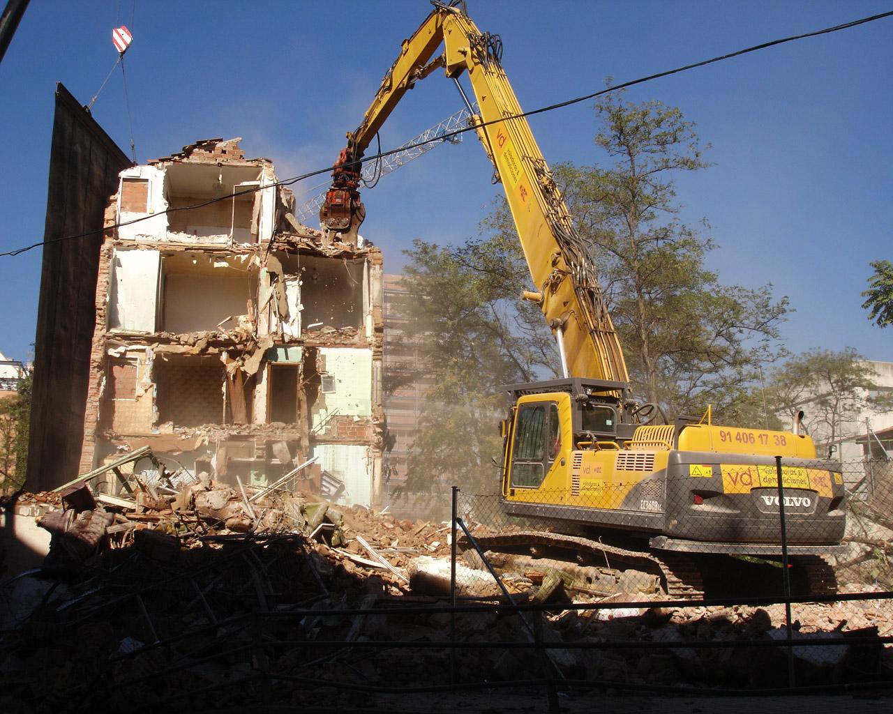 Proyecto_Demolicion Madrid
