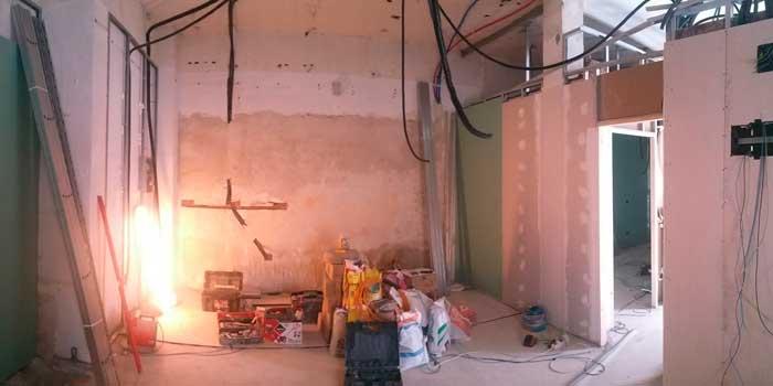 Obras en casa sin licencia