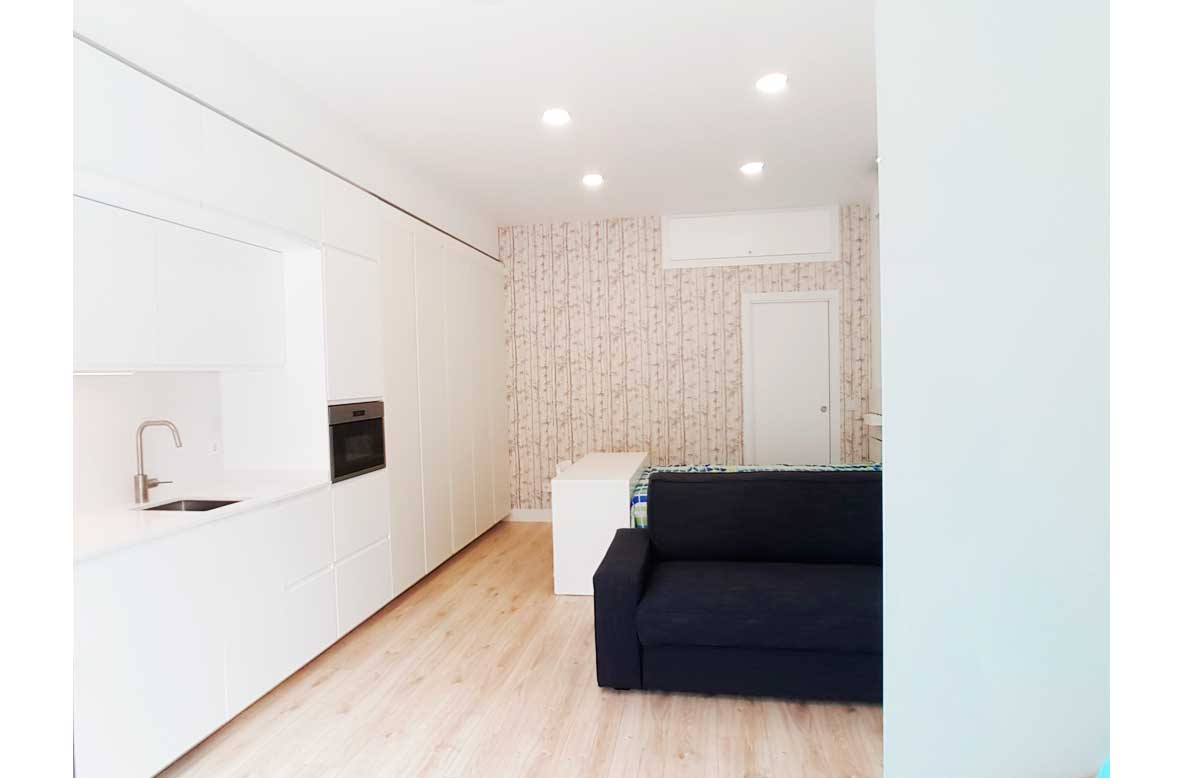 Proyecto cambio de uso de local a vivienda en MadridRio