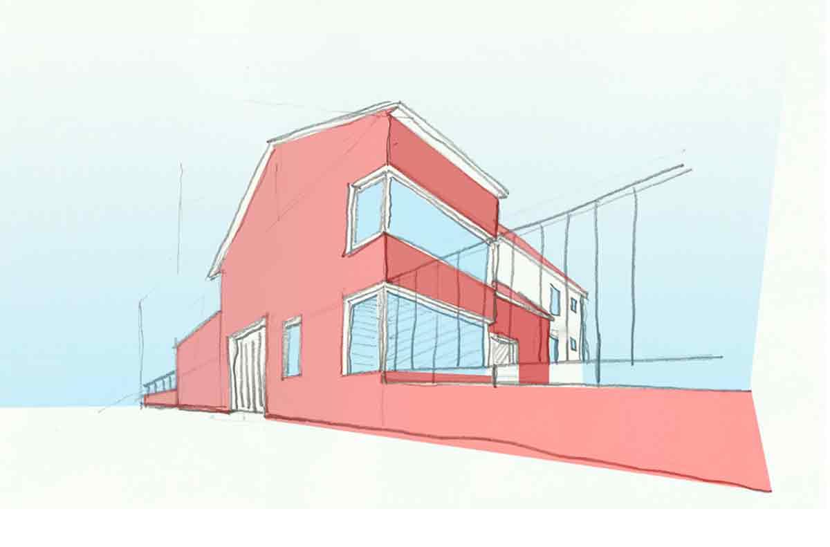Vivienda Unifamiliar Badajoz apuntoarquitectura Proyecto 01