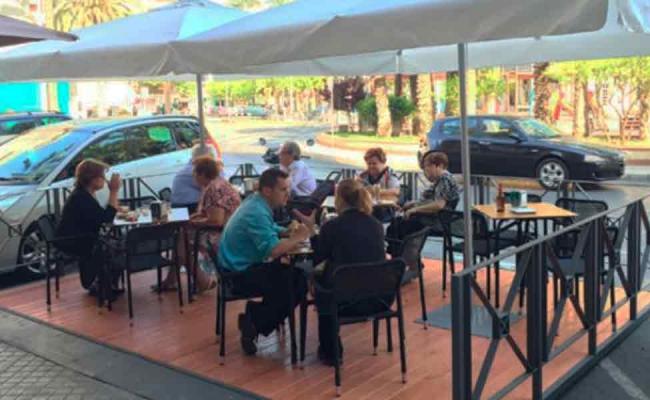 Medidas de apoyo para la instalación de terrazas de bar en Madrid por Coronavirus